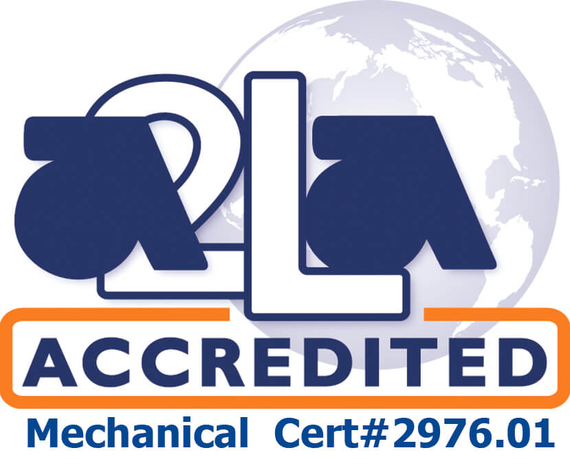 A2LA Accredited Logo