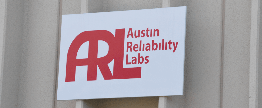 Austin Reliability Labs Sign