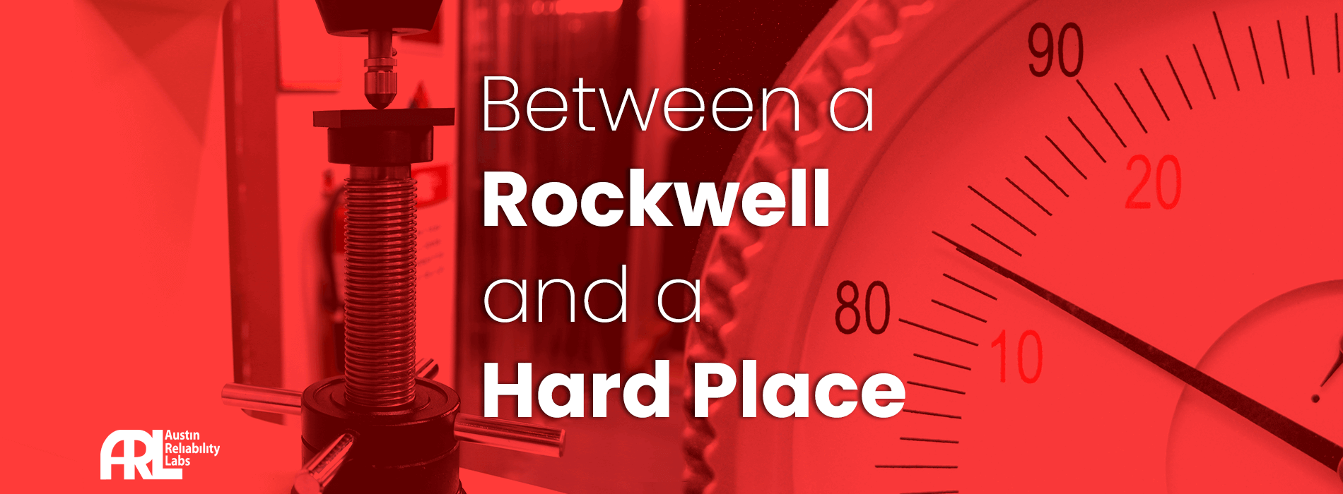 Rockwell Hardness Tester and Gauge