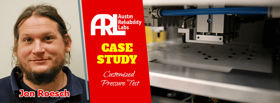 Customized Pressure Test