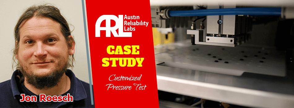 Customized Pressure Test