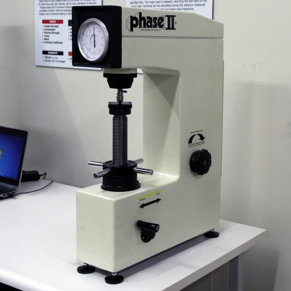 Phase II+ Rockwell Hardness Tester